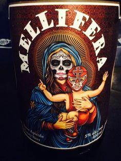 Le Trou du Diable - Mellifera , Honey Beer. Very nice, lactic fermentation.