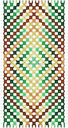 Normal friendship bracelet pattern added by noura_knot. Yarn Bracelets, Bracelet Crafts, String Bracelets, Friendship Bracelet Patterns, Friendship Bracelets, Art Friend, Diamond Cross, Bijoux Diy, Mandala Pattern