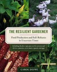 The Resilient Gardener ~ Tells you the four crops you should grow if all you can deal with is a small garden