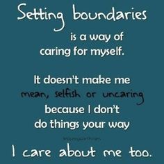 Boundaries are good and rooted in love. Love protects. God is a fan of boundaries. Read more here: Boundaries (Killing Insecurity Series). Http://morena242.wordpress.com.