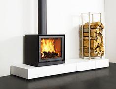 Fireplace Inserts: gas fireplace insert, electric fireplace insert and wood burning fireplace Insert Fireplace Design, Stove, House, Home, Wood Burning Fireplace Inserts, Hearth, Modern Wood, Modern Wood Burning Stoves, Wood Stove