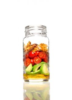 Madeleine Shaw's packed lunch salad - Red Online