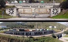 """TAGTICAL MEDIA 5 : """"We live on Google earth.""""   by MTO (Graffiti Street art)"""