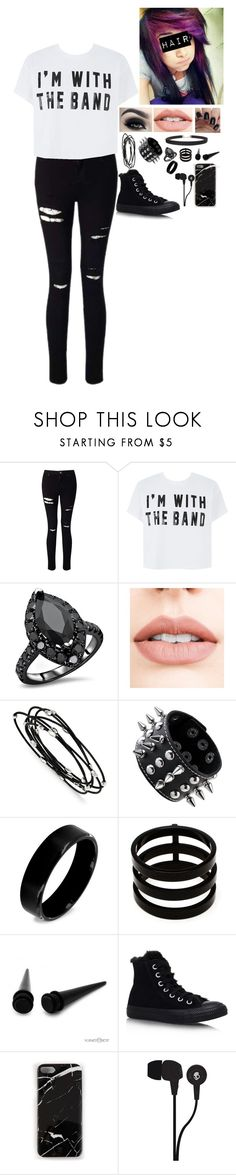 """""""""""Jack The Ripper"""" - My Chemical Romance"""" by xbeautiful-disasterx on Polyvore featuring Miss Selfridge, Too Faced Cosmetics, Jouer, Kevin Jewelers, West Coast Jewelry, Repossi, Converse, Case Scenario, Skullcandy and Humble Chic"""