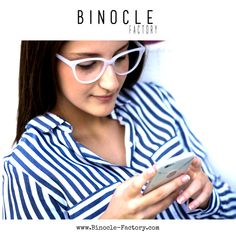 Purchase prescription glasses online with Binocle eyeglasses shop, the specialist of hipster glasses style and blue light protection glasses Hipster Glasses, Prescription Glasses Online, Eyeglasses, Unique, Shopping, Style, Design, Fashion, Glasses