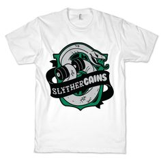 SlytherGAINS #fitness #fashion #gym #workout #style #harrypotter #swole #train #nerdy #gains