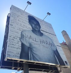 Niall // This Town || OMG MY BABY HAS HIS OWN PROMO BILLBOARD<<< im so proud of you Niall❤❤❤❤