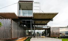 That passion translated into his repurposed container home.