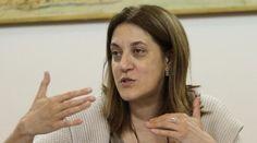 """La governatrice dell'Umbria Catiuscia Marini dà due """"bacchettate"""" Ad Ast, Lucia Morselli"""