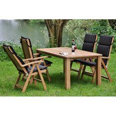 azur oakland ronde tafel gerecycleerd teak 160 gescova. Black Bedroom Furniture Sets. Home Design Ideas