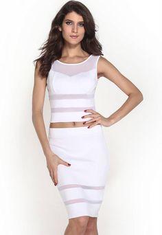 2 delige jurk