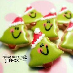 Happy Christmas trees! Funky Cookie Studio