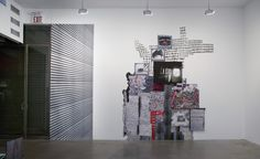 """Diana Cooper, """"My Eye Travels,"""" exhibition view, Postmasters Gallery, NYC"""