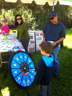 The Water System Improvement Program (WSIP) prize wheel is back and you only have a few more days to sharpen your knowledge before you spin the wheel at the 2014 Sunol Wildflower Festival. Buy this Prize Wheel at http://prizewheel.com/products/tabletop-prize-wheels/mini-clicker-prize-wheel/.