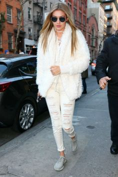 Gigi Hadid out in New York City (1/6/2016)