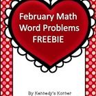 We hope you enjoy this FREE set of Valentine Math Word Problems! This Valentine product includes a worksheet with all addition problems, one with a...