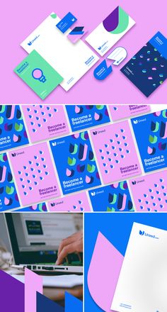 Find tips and tricks, amazing ideas for Corporate branding. Discover and try out new things about Corporate branding site Corporate Identity Design, Identity Card Design, Id Card Design, Letterhead Design, Business Logo Design, Identity Branding, Visual Identity, Brochure Design, Design Visual