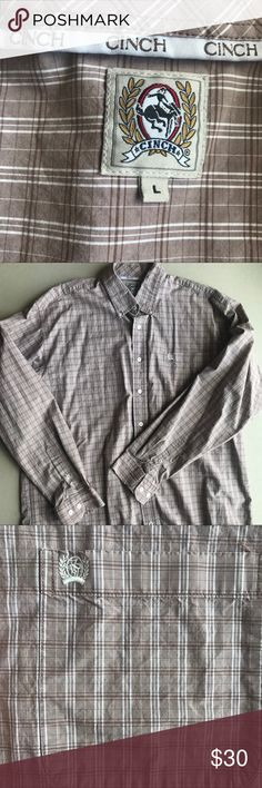 7a7358bf Cinch men's shirt Like new, nice colors.! Feel free to offer.