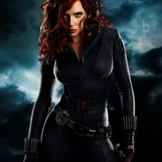 "Scarlett Johansson as The Black Widow/Natasha Romanoff of ""The Avengers"" (Marvel Comics)."