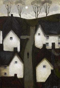 My favourite Caple painting, austere but with a powerful dreamlike quality