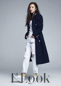 KARA Goo Hara and Seo Kang Joon - Beauty and Youth, 1st Look Magazine Vol.80
