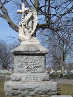 old cemetery .. angel
