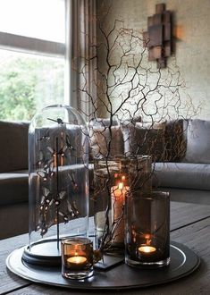 20 Perfect Coffee Table Styling Ideas To Inspire Coffee Table Centerpieces, Decorating Coffee Tables, Centerpiece Decorations, Decoration Table, Tray Decor, Interior Design Living Room, Living Room Decor, Pinterest Home, Coffee Table Styling