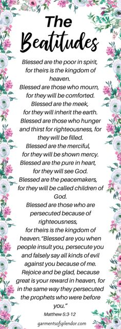 How to Pray the Beatitudes to Deepen your Prayer Life -