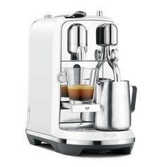 Breville Nespresso Creatista Plus. Receive personalized advice and obtain technical support for your machine: whatever you are seeking, the Nespresso Club is with you every step of the way. The Nespresso Club. Breville Espresso Machine, Machine A Cafe Expresso, Espresso Machine Reviews, Espresso Coffee Machine, Espresso Maker, Coffee Maker, Cappuccino Coffee, Barista Coffee Machine, Coffee Barista
