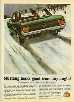 Mustang add form '64 - TIME- 18-12-64 - Zeckford.com #ZeckFord