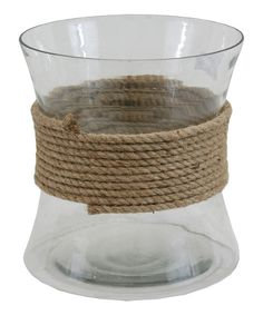 Carl Rope Jar by The Import Collection #zulily #zulilyfinds