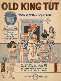 "Sheet music ""Old King Tut"" http://arabstereotypes.org/sites/default/files/imagecache/206-slider/images/sidebars/1_22.jpg"