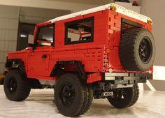 Designer Sheepo designed the large Defender 110, I modded … | Flickr