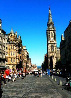 Royal Mile. Edinburgh, Scotland
