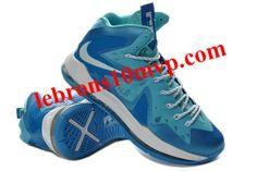 buy online 8569b 72465 Nike LeBron 10(X) Elite Ice Blue White Nike Lebron, Cheap Shoes