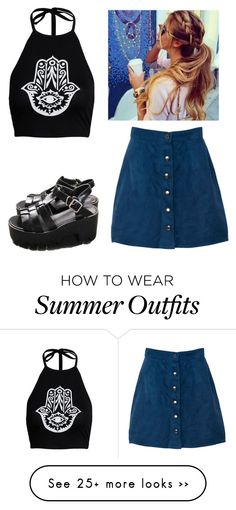 """Outfit"" by eeyiam on Polyvore featuring Boohoo"