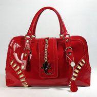 cc9767150e versace patent leather handbags red  9810-EX1863  -  229.00   vintage 1