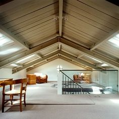 10 tips on turning an attic space into a stylish, practical extra room