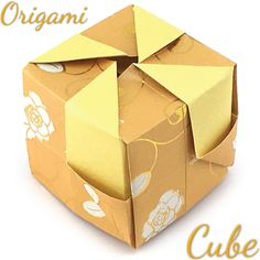 Origami for Everyone – From Beginner to Advanced – DIY Fan Origami Star Paper, Origami Cube, Origami Yoda, Origami Folding, Useful Origami, Origami Paper, Origami Boxes, Oragami, Diy Origami