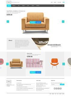 I just released Koorsi Furniture woocommerce theme on Creative Market.