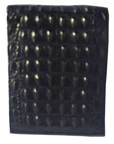 Crocodile back mens wallet