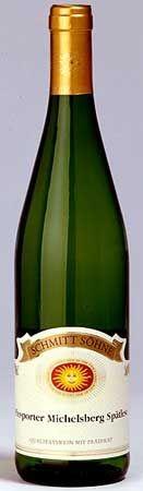 My Favorite Wine... Schmitt Sohne Piesporter Michelsberg Riesling! YUM