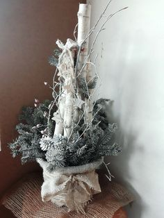 Christmas natur decor