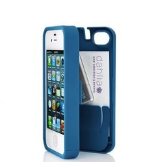 EYN, Turquoise Case for iPhone 4/4S with built-in ($23.99)