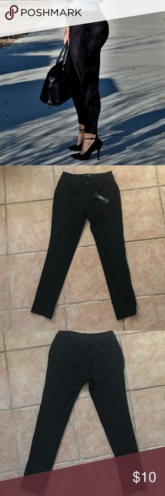 Black pants Worn once on pictures  Like new Super stretchy  Size small but could fit a medium labijou Pants Skinny