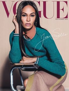 Joan Smalls on Vogue Mexico September 2015 cover
