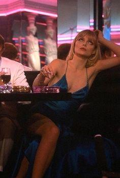 #ElviraHancock #Elvira #Scarface Michelle Pfeiffer as Elvira in Brian de Palma´s Scarface (1983)