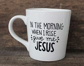 His Mercies Are New Every Morning Ceramic by MorningSunshineShop