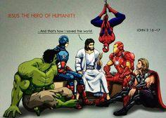 jesus superhero room - Google Search