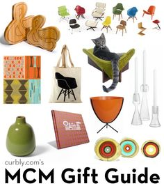 For the modernist in your life: Mid-Century Modern Gift Guide!